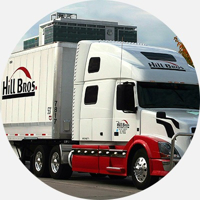 Hill Brothers Transportation truck