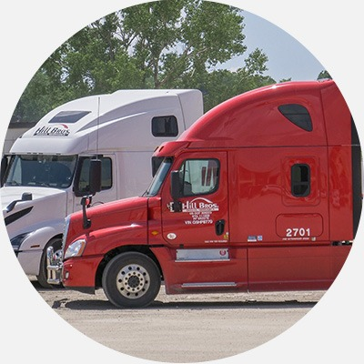 Hill Brothers Transportation truck